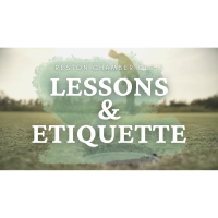 Golf Lesson, Tips and Etiquette Review Before the Reston Chamber Cup