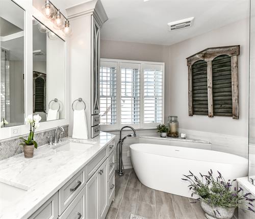 Leesburg Master Bath Remodel