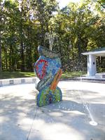 """Flux"" by Valerie Theberge at Dogwood Pool"