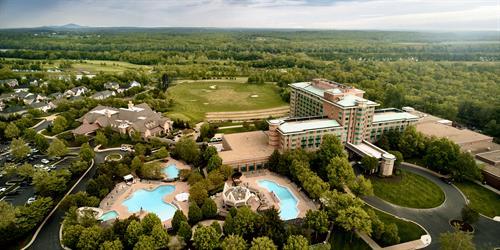Lansdowne Resort Aerial
