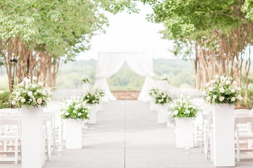 Terrace Wedding Ceremony