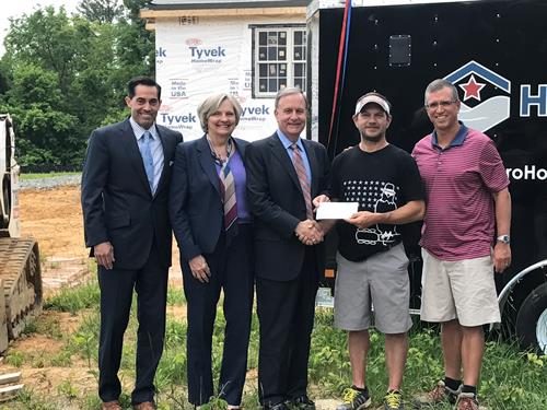 Donation to Hero Homes