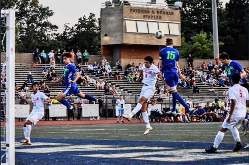 2019 Boys Soccer Air Borne Division photo: Rei Linam