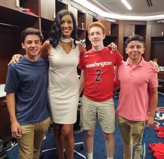 2019 Intern Field Trip: Mystics basketball coverage