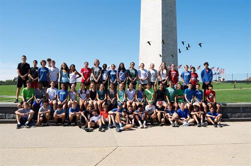 2019 Cross Country DC training run