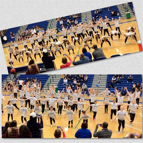 Danceline Youth Workshop giveback and Performance 2020 photo: Boosters
