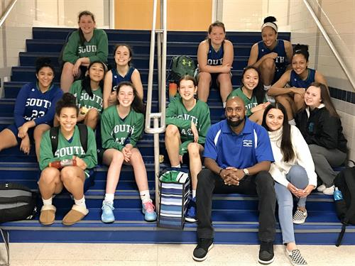 Girls JV Basketball FCPS Tournament Champs 2020  photo: Boosters