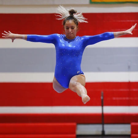2020 Regional Gymnastics  photo: yearbook