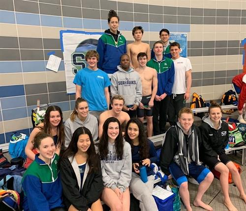 2020 Senior Swimmers  photo: McCrea