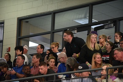States: Swim and Wrestling Same night and Coach split his time well photo: M. Migliara