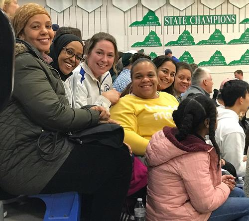 Basketall Moms 2020 photo: Boosters