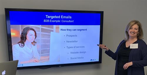 Don't forget to segment your audience! (From the NextGen Marketing Lunch + Learn - Email Marketing Trends for 2019)