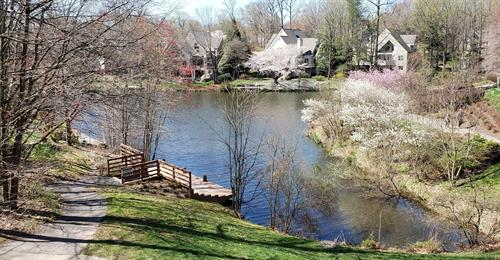 Sale on one of Reston's lakes
