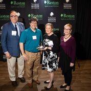 PASS Receiving Reston Chamber Community Partner of the Year Award