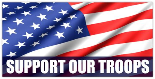 We support those who protect our freedom !!!