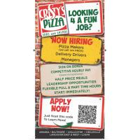 CRISTY'S PIZZA EAST