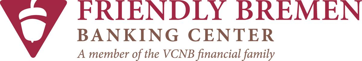 Friendly Bremen Banking Center, a member of the VCNB Financial Family