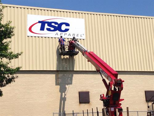 TSC Apparel Wall Sign