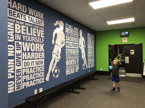 Inspiration Wall: YSC Sports