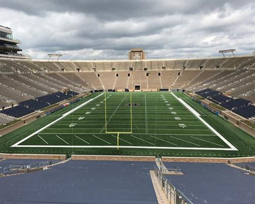 Notre Dame University Football Stadium