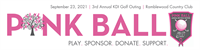 Pink Ball: KDI's 3rd Annual  Golf Outing Charity Event