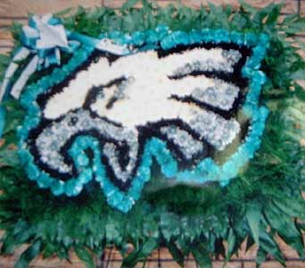 Eagles Tribute by Stein Your Florist Co.