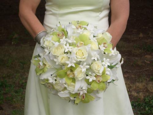 Wedding bouquet by Stein Your Florist Co.