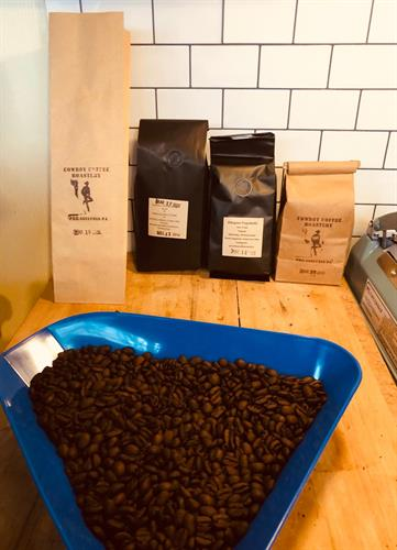 More packaging examples & a fresh roast!