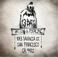 13 Bats Tattoo and Body Piercing Studio
