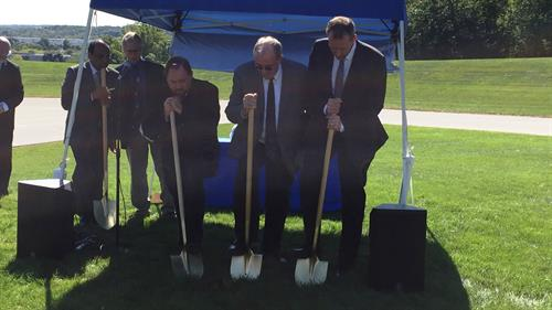 Expansion Groundbreaking at Christ Ev Lutheran Church