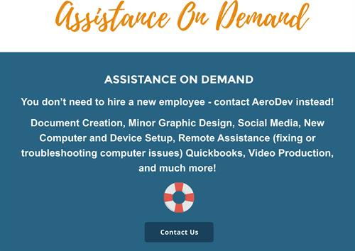 AeroDev's Assistance on Demand