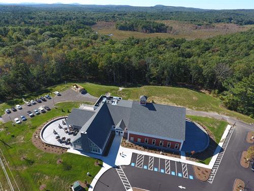 Roofing on the new Murphy's tap room in Bedford NH