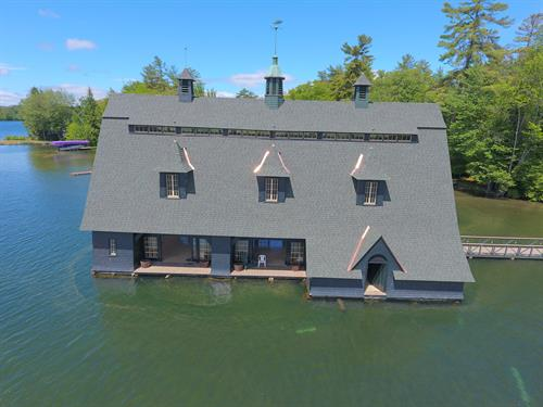 New Roofing system - Boat house on lake winnipesaukee, NH
