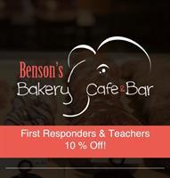 Benson's Bakery and Cafe - Hudson