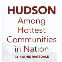 Hudson Among Hottest Communities in Nation