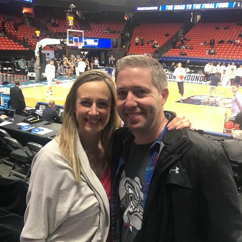 Joel and Karen Supporting Gonzaga