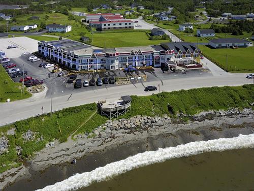 Ocean View Hotel Aerial