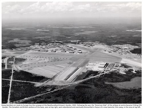 Gander Airport during WWII