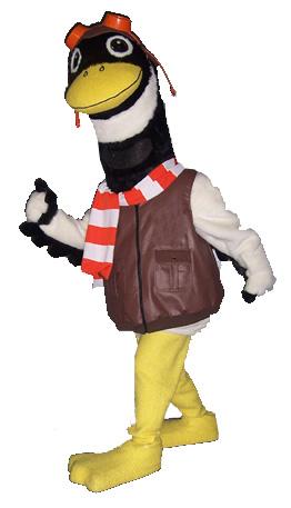 Commander Gander, town mascot