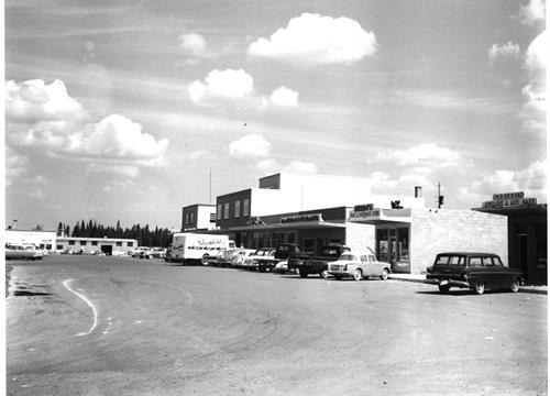 Shopping, about 1962