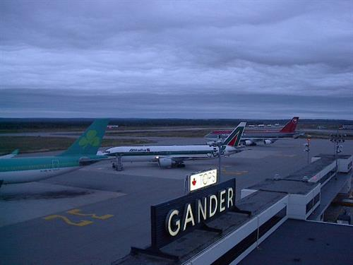 Gander International Airport during 9/11