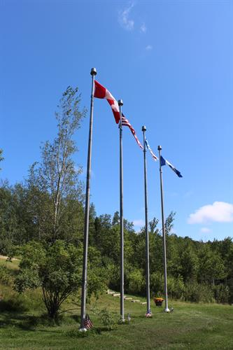 Silent Witnesses Memorial, at Gander Lake