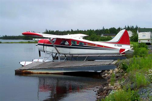 Floatplane docks, Deadman's Pond