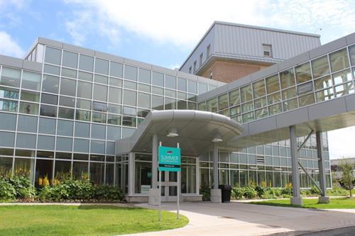 Macpherson College front entrance