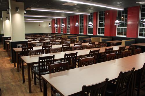 Hatcher dining hall