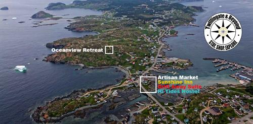 Twillingate & Beyond Inc Locations