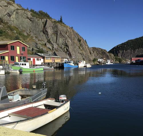 Quidi Vidi Village is a colourful community within St. John's