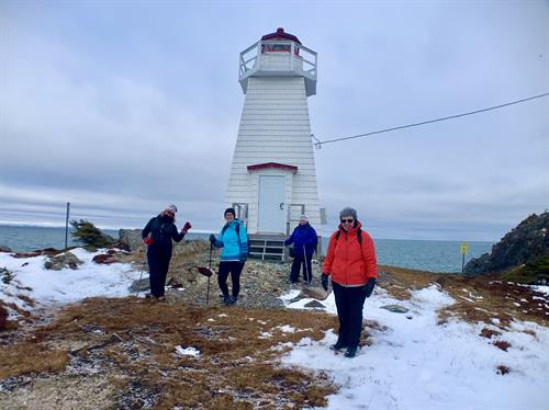Lots of lighthouses to be seen and we visit them in all seasons.