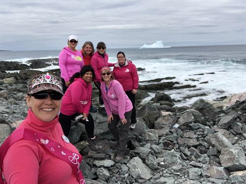 A bachelorette party while hiking and chasing icebergs. Contact us to celebrate in so many different ways.