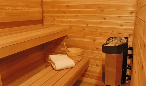 Sauna @ 24 Riveride